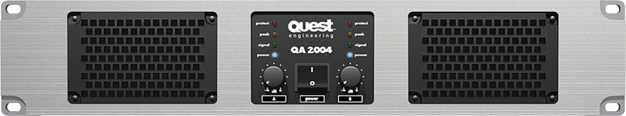 QA2004 Power Amplifier.