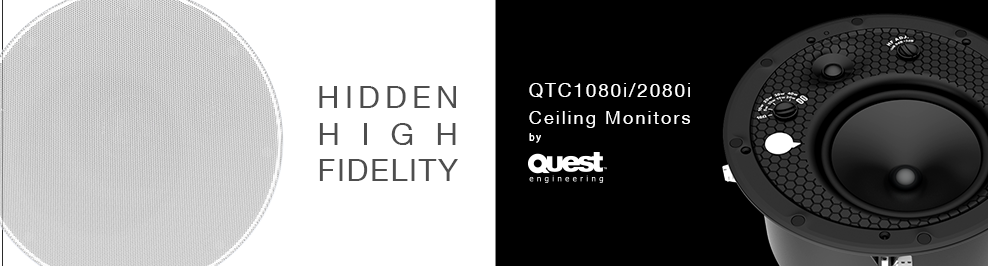 Quest QTC Ceiling Monitors